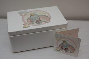 Bewaardoos - Houten doos met afbeelding - Luizy
