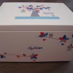Bewaardoos - Houten doos met afbeelding - Sylvan
